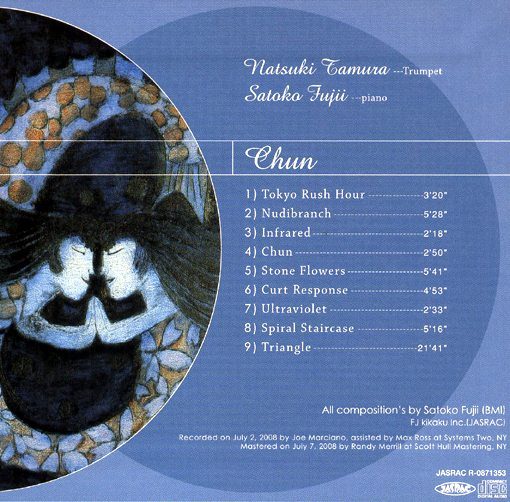 Natsuki Tamura   Satoko Fujii   Chun   libra records