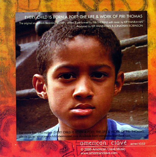 Piri Thomas | Every Child Is Born A Poet | american clavé