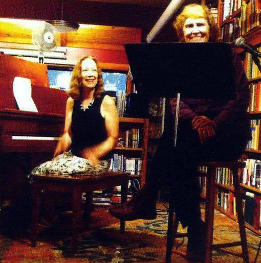 Connie Crothers   Paula Hackett   Sharing the Thrill   Piano & Poems   NA1055