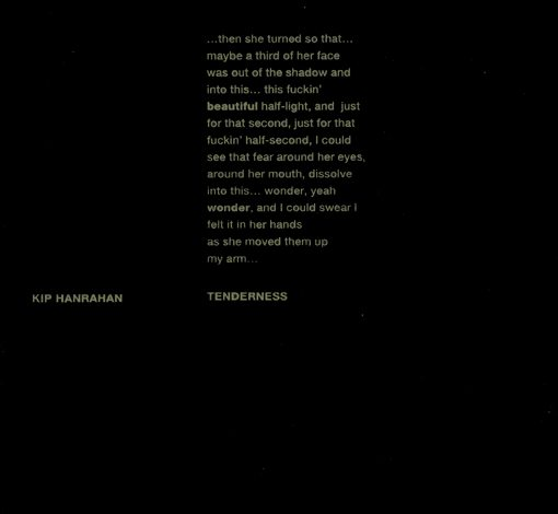 kip hanrahan | tenderness | american clavé